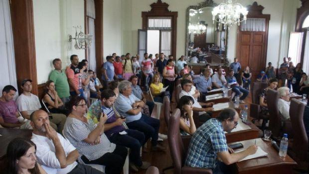Orden del día de la primera sesión ordinaria del Concejo Deliberante