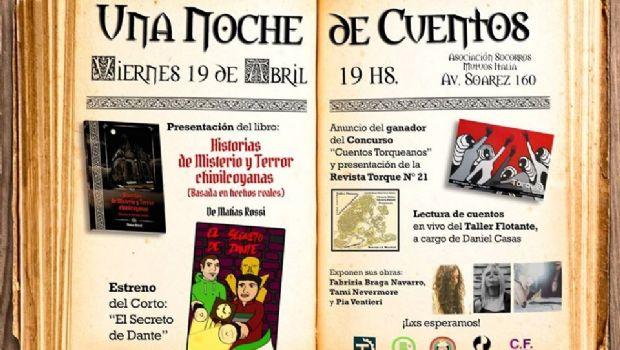 """Se hará la presentación del libro """"Historias de Misterio y Terror Chivilcoyanas"""""""