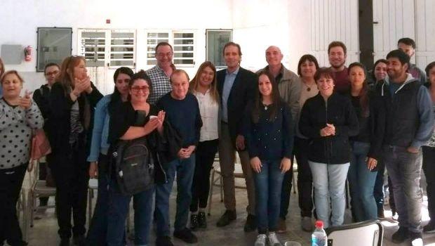 Visita de Diego Martínez vicepresidente 1º del Consejo General de Educación