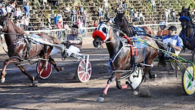 Once carreras en el hipódromo de Chivilcoy