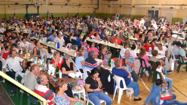 Estadio completo para el festival por la Fe y la inclusión