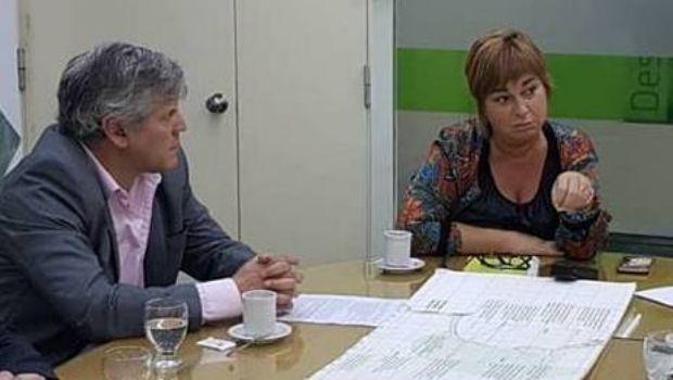 El diputado Fabio Britos se reunió con la directora de Pesca provincial
