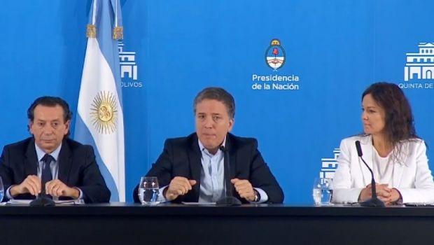 """Dujovne afirmó que en esta """"nueva etapa se ganará la batalla contra la inflación"""""""
