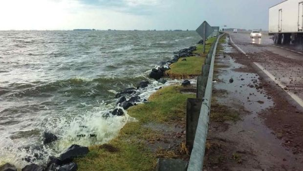 Chivilcoy y otros seis distritos de  la zona contra el agua de La Picasa