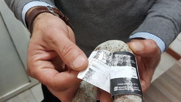 SENASA decomisó mercadería con rótulos  apócrifos y faltantes de documentación