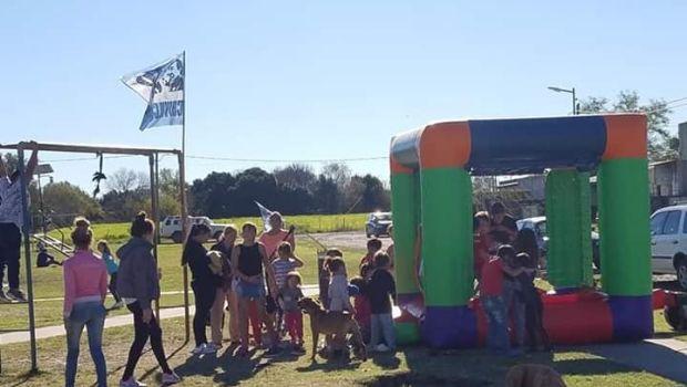 La JP realizó una actividad recreativa en el Barrio Verde