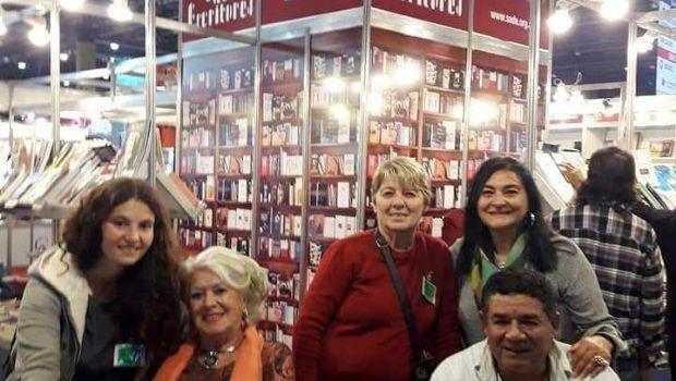 Escritores chivilcoyanos en la  Feria Internacional del Libro