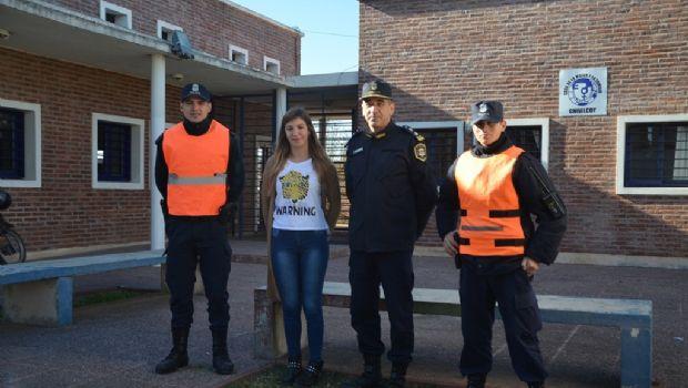 El personal de Prevención Operativa recorrió el Barrio Fonavi